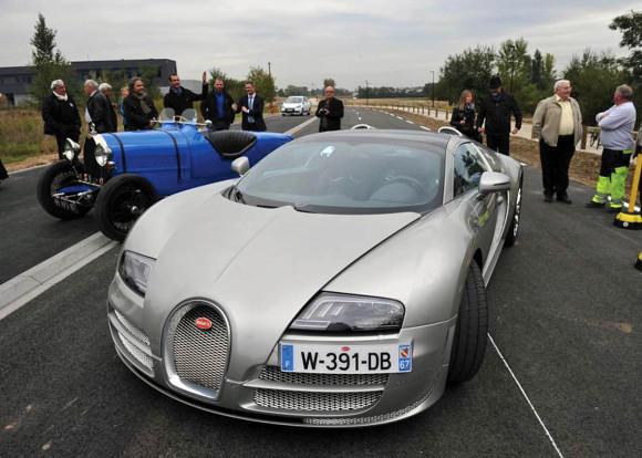 Inauguration de la liaison Bugatti, le 4 octobre 2013